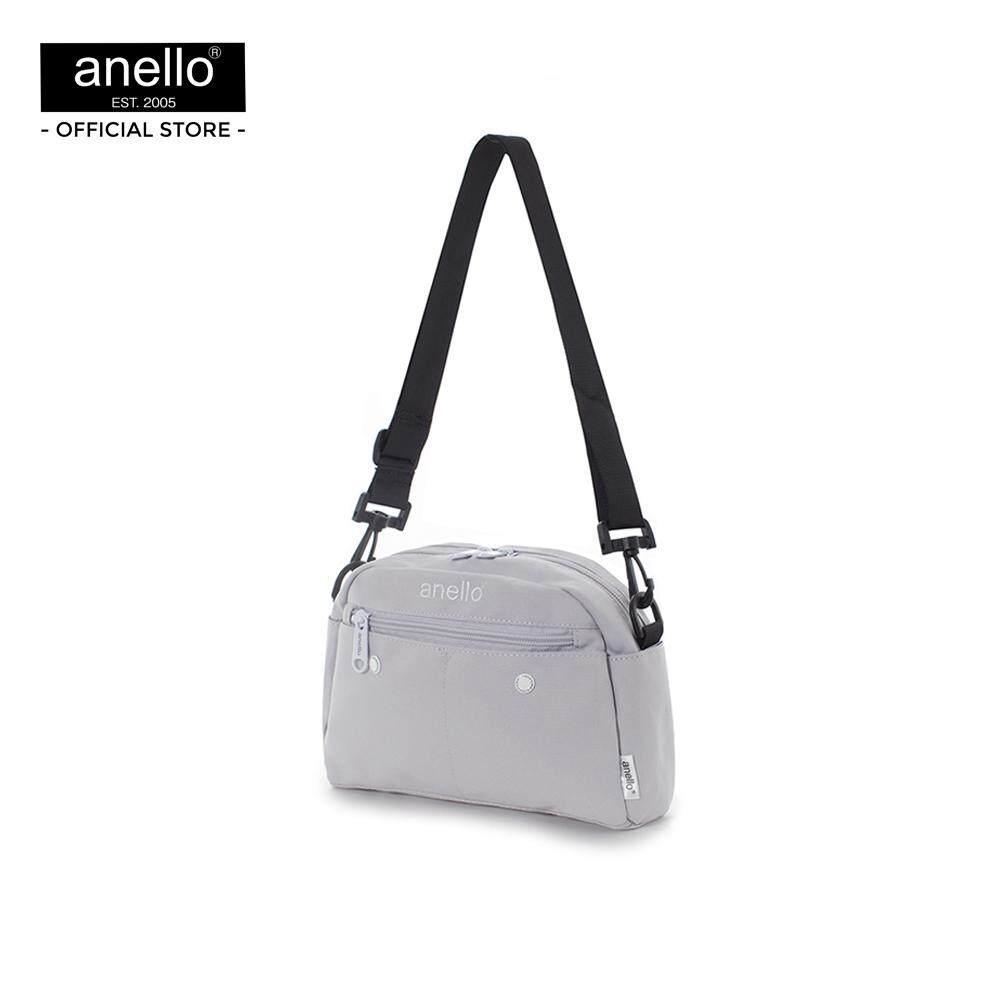 ยี่ห้อนี้ดีไหม  อุบลราชธานี anello กระเป๋าสะพายไหล่ CS 10 Pockets Shoulder_AT-S0119T