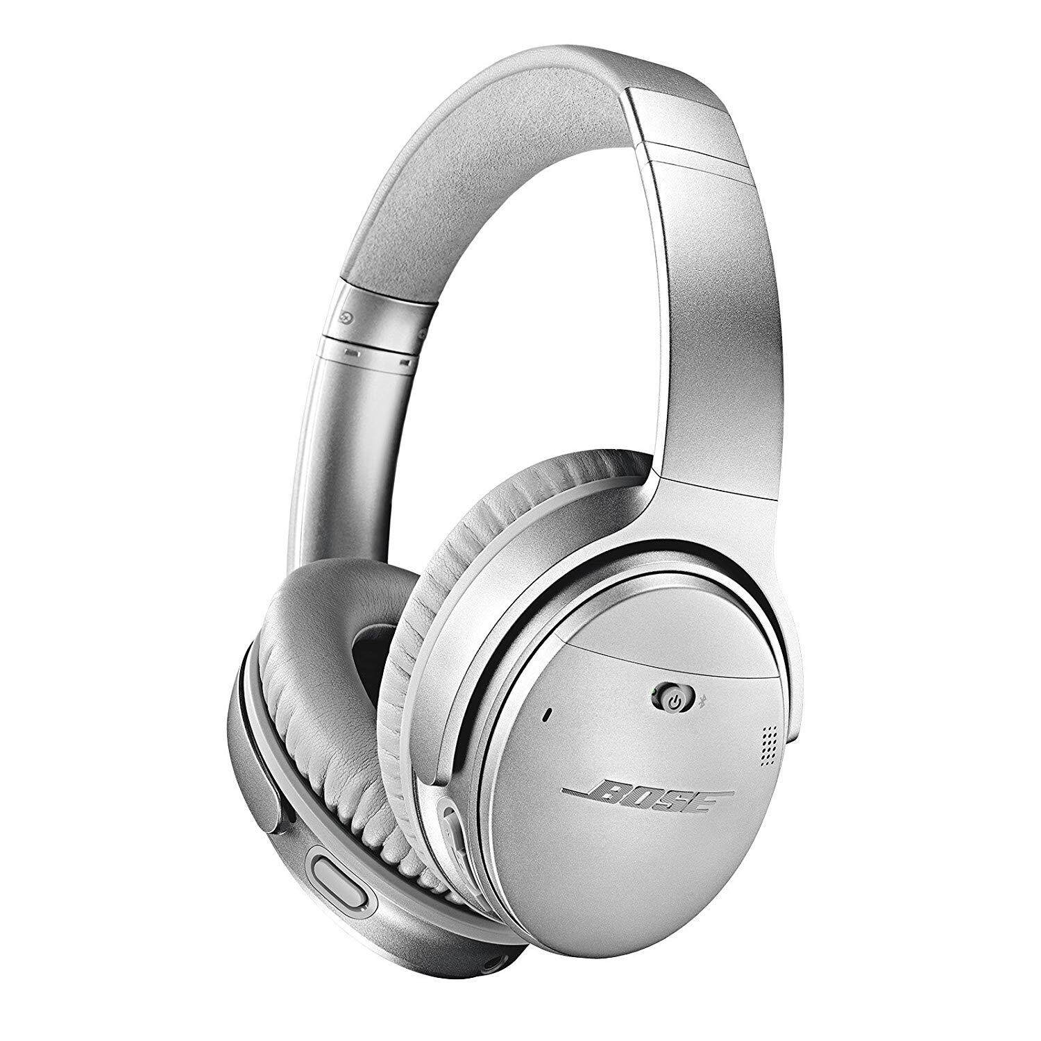 ยี่ห้อไหนดี  ปัตตานี Bose QuietComfort 35 Wireless Noise Cancelling Headphones (Silver)