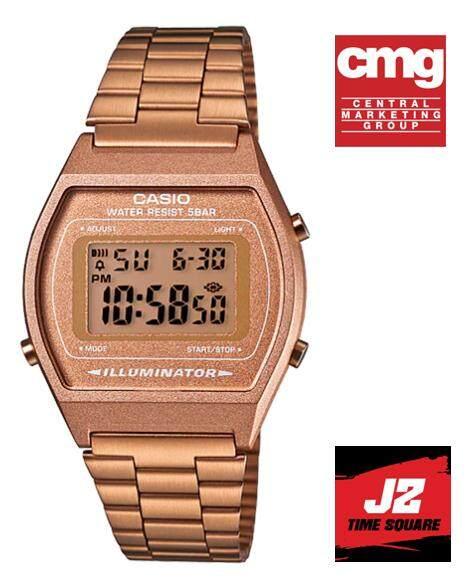 Casio Classic Rose Gold รุ่น  B640WC - 5A นาฬิกาข้อมือของแท้ 100% พร้อมรับประกัน 1 ปีเต็ม