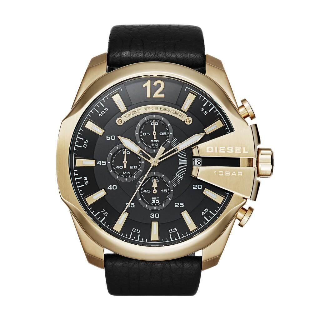 สอนใช้งาน  สกลนคร คลังสินค้าพร้อมแฟชั่นดีเซลนาฬิกาผู้ชาย DZ4344
