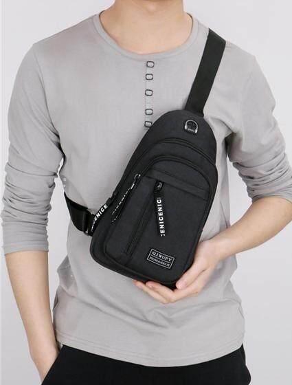 ชัยนาท FASTYLE SHOP กระเป๋าคาดอกช่องเยอะทรงเท่กระเป๋าผู้ชายFSB101