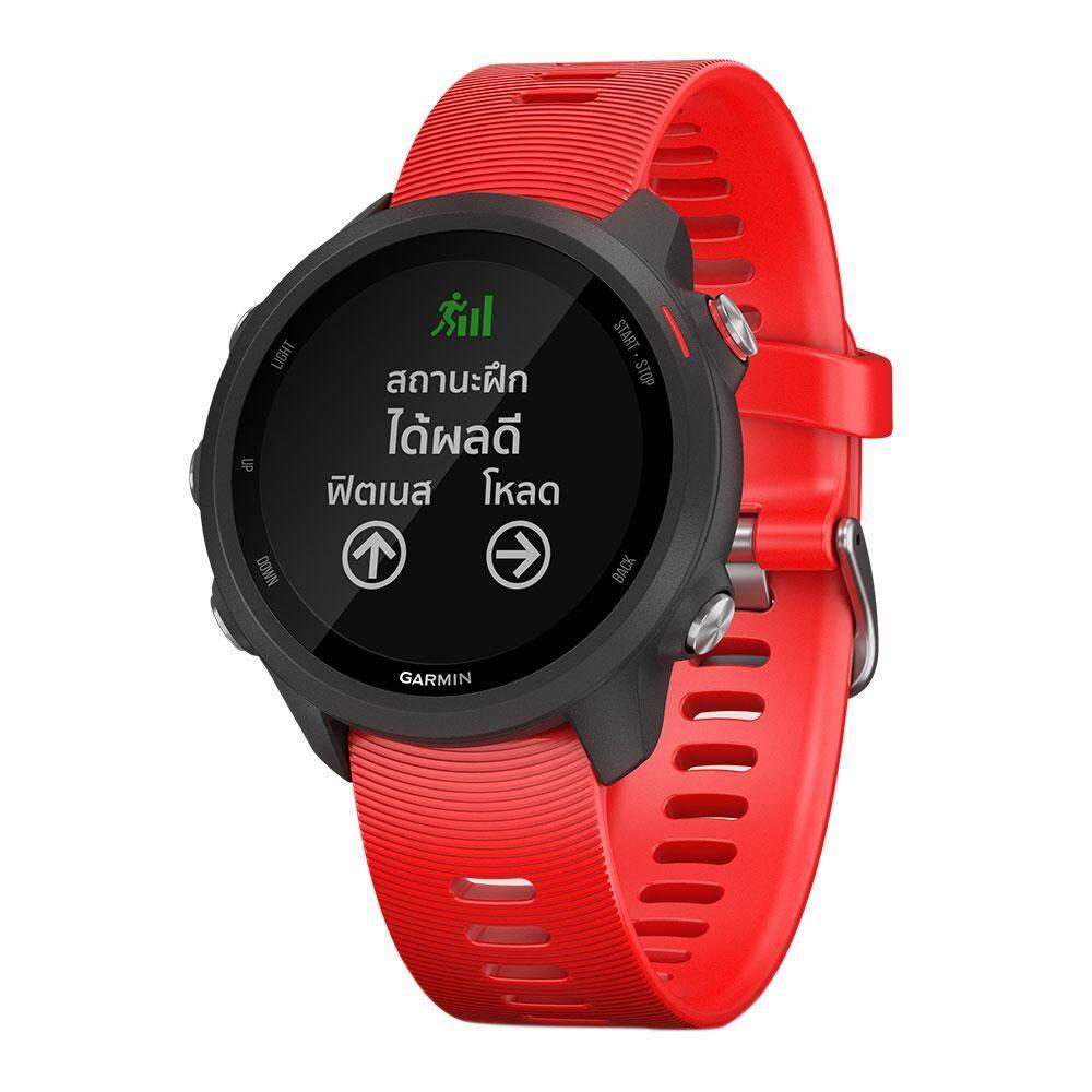 สอนใช้งาน  ราชบุรี Garmin Smartwatch Forerunner 245 Music