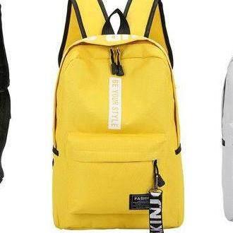 กระเป๋าเป้สะพายหลัง นักเรียน ผู้หญิง วัยรุ่น ตรัง พร้อมส่งกระเป๋าเป้ BE YOUR STYLE M 136