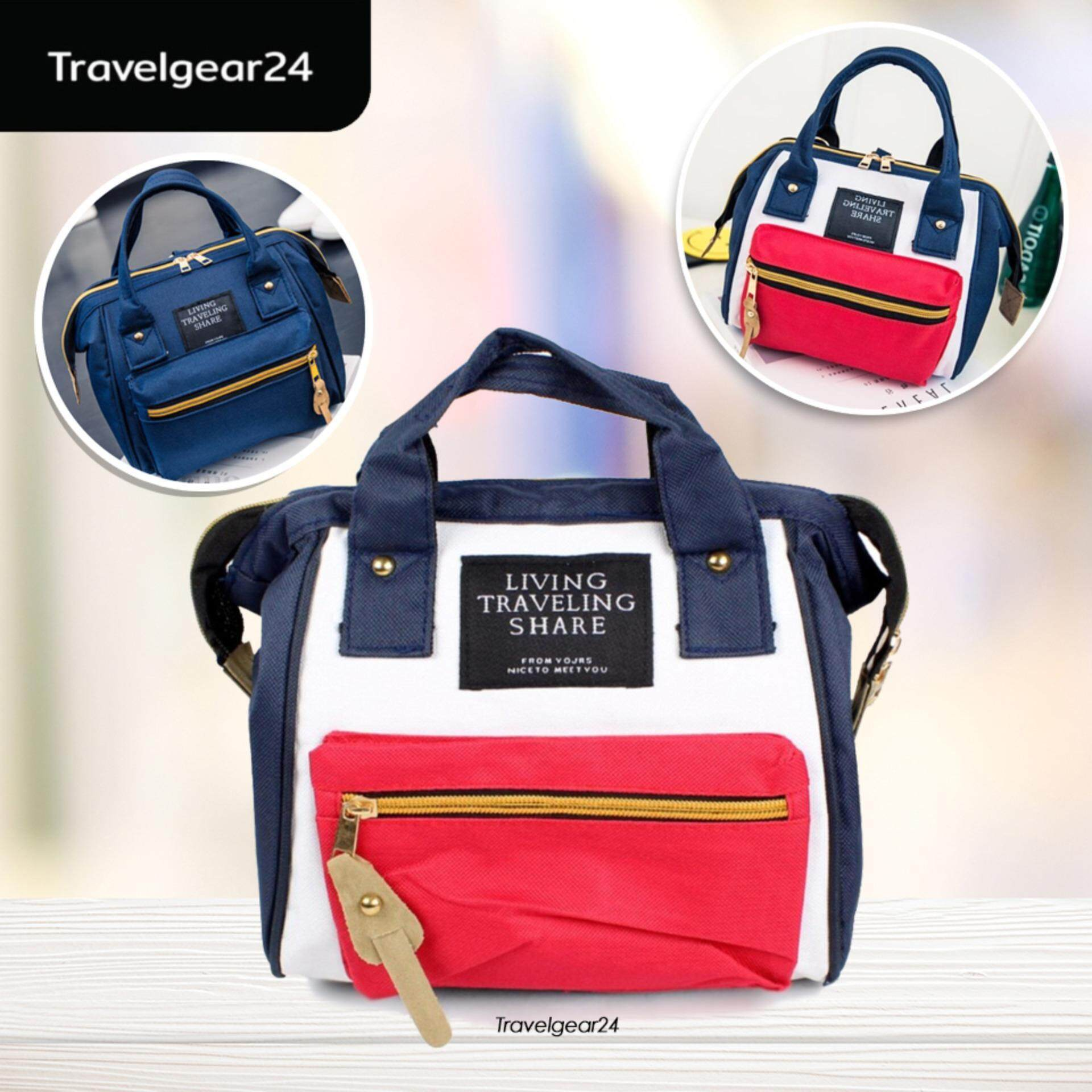 กระเป๋าสะพายพาดลำตัว นักเรียน ผู้หญิง วัยรุ่น พะเยา TravelGear24 กระเป๋าสะพายข้าง กระเป๋าสะพายไหล่ กระเป๋าเป้ กระเป๋าแฟชั่นผู้หญิงสไตล์ญี่ปุ่น Fashion Japan Women Bag   D0081