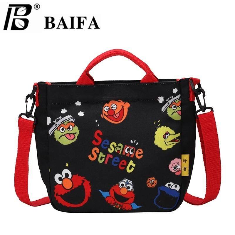 กระเป๋าเป้สะพายหลัง นักเรียน ผู้หญิง วัยรุ่น น่าน BAIFA SHOP กระเป๋าสะพายข้างพิมพ์ลายการ์ตูนน่ารักB94