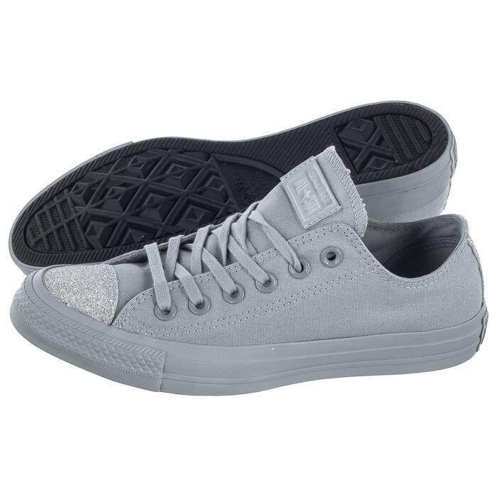 การใช้งาน  พะเยา Converse Sneaker รองเท้า แฟชั่น ผู้หญิง คอนเวิร์ส Women รุ่น All Star OX มี 4 สี ชมพู/ดำ/ขาว/เทา (2190)