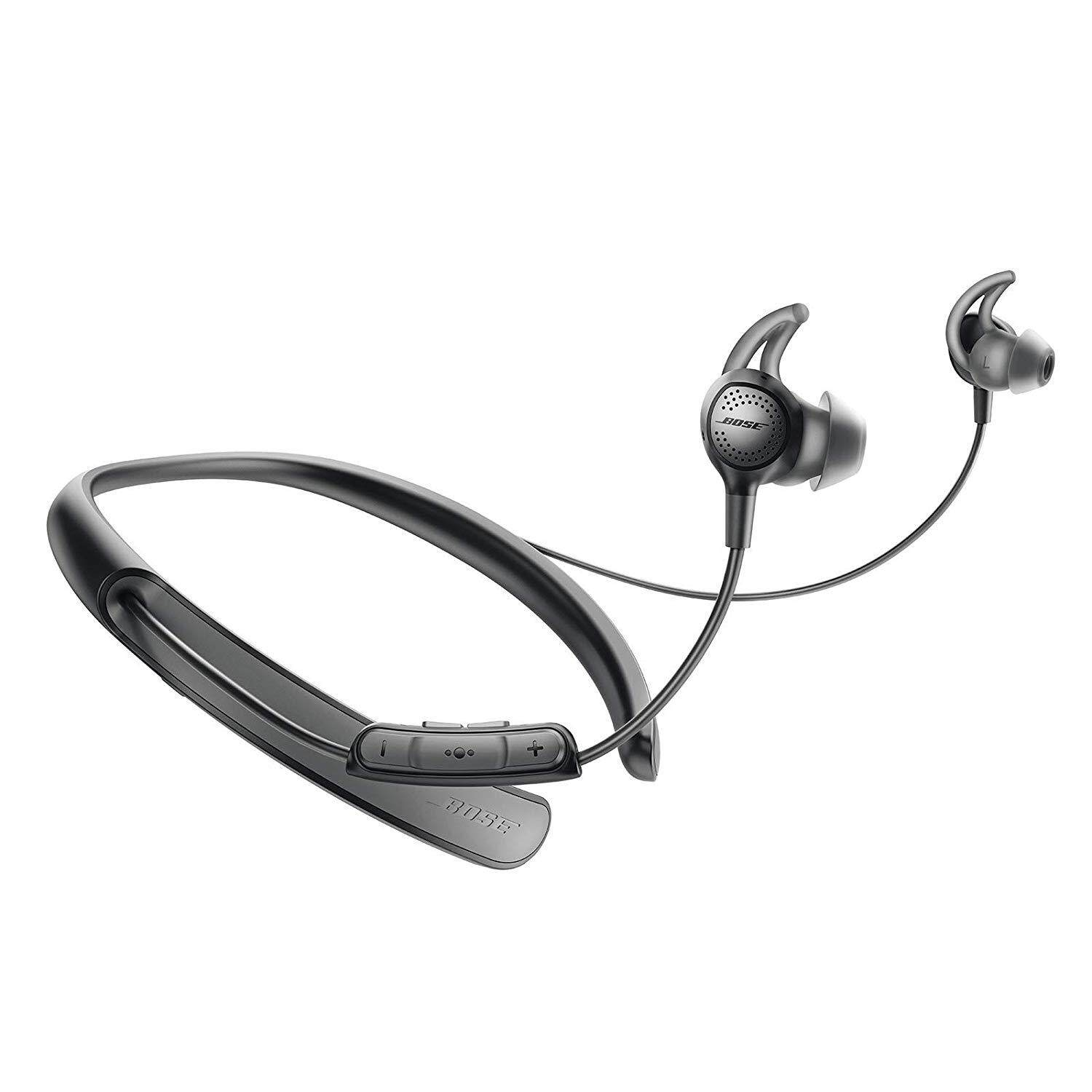 ยี่ห้อนี้ดีไหม  พะเยา Bose Quietcontrol 30 Wireless Headphones  Noise Cancelling - Black QC30