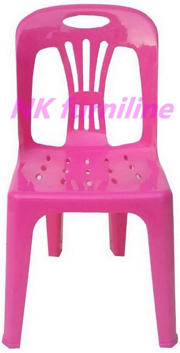 เช่าเก้าอี้ เชียงใหม่ NK Furniline เก้าอี้พลาสติก เกรดAมีพนักพิง ปลายขามียางกันลื่น รุ่น CPA 989