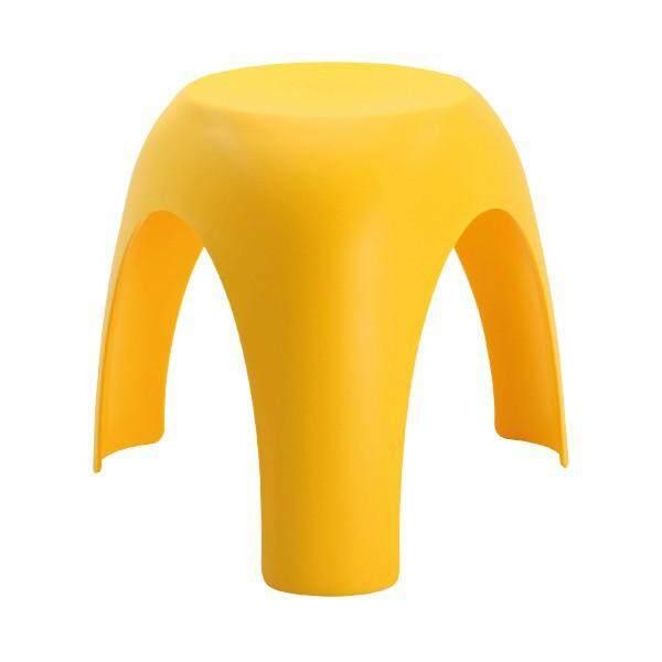 เช่าเก้าอี้ หนองคาย เก้าอี้พลาสติก รุ่น ว้าว - สีเหลือง