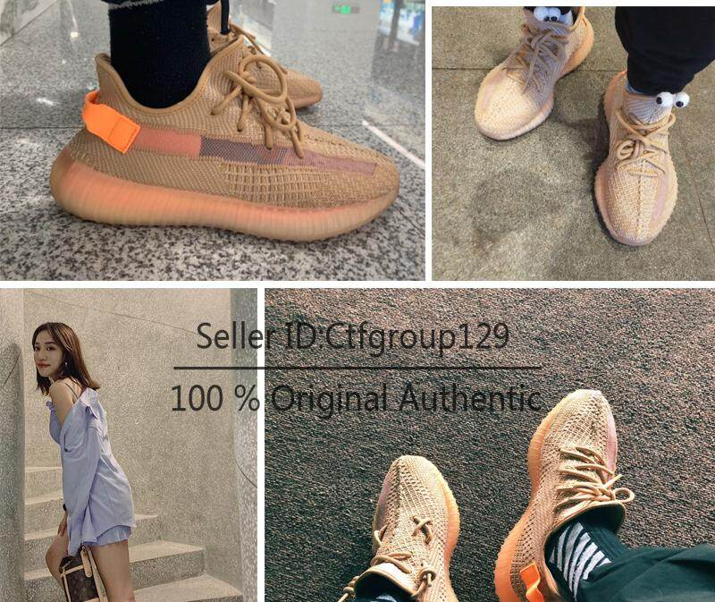 Fashion Sneaker Clay Boost 350 V2 Sports Running Shoe EG7490