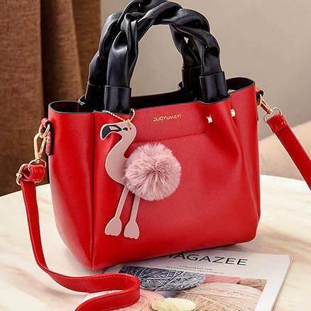 กระเป๋าถือ นักเรียน ผู้หญิง วัยรุ่น ตรัง Bag Design กระเป๋าสะพายข้าง สำหรับผู้หญิง รุ่น 088