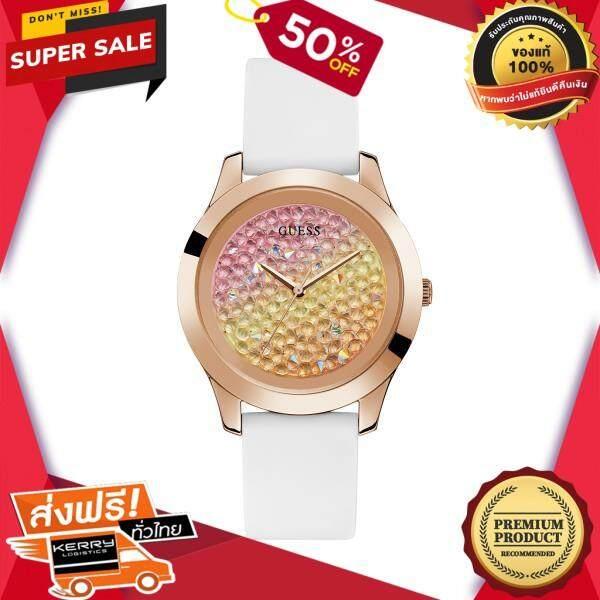 เก็บเงินปลายทางได้ นาฬิกาข้อมือคุณผู้หญิง GUESS นาฬิกาข้อมือผู้หญิง CRUSH รุ่น W1223L3 สีขาว ของแท้ 100% สินค้าขายดี จัดส่งฟรี Kerry!! ศูนย์รวม นาฬิกา casio นาฬิกาผู้หญิง นาฬิกาผู้ชาย นาฬิกา seiko นาฬ