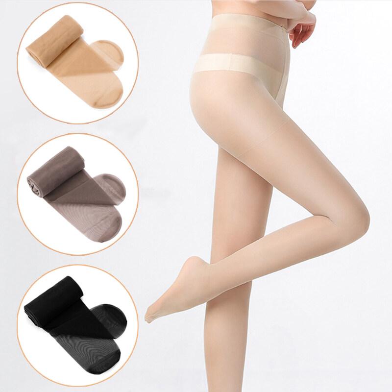 Realtec ถุงน่องเนื้อเนียนแบบเต็มตัว ถุงน่องขาเรียว ถุงน่อง ถุงน่องสีเนื้อ สีดำ ทนทาน ไม่ขาดหรือรันง่าย มีความพอดีตัว สวมใส่สบาย silk stockings