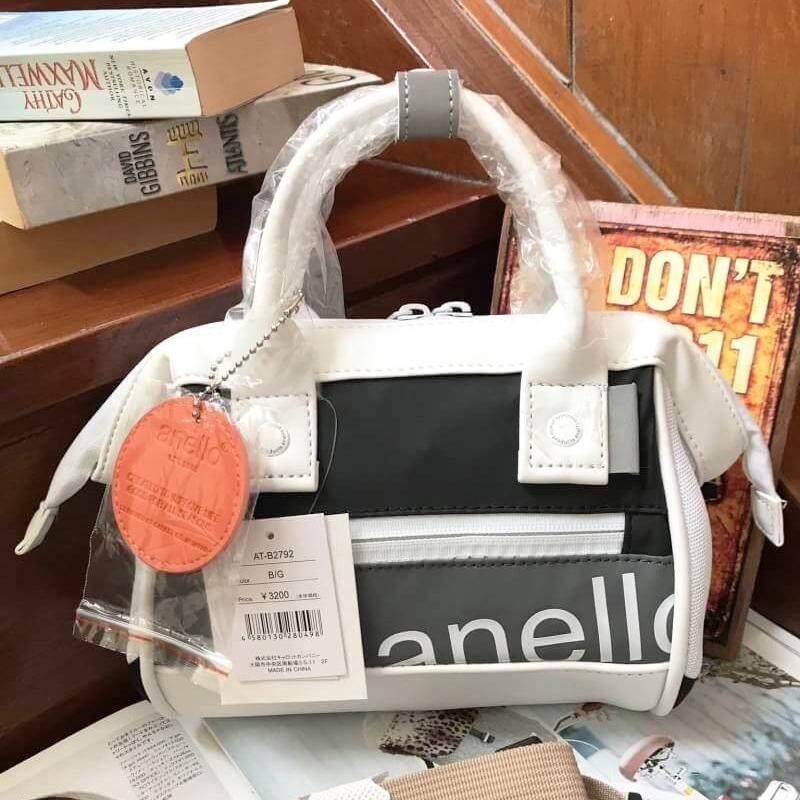 บัตรเครดิต ธนชาต  พระนครศรีอยุธยา ANELLO 90'S Mouthpiece 2 way Mini Shoulder Bag กระเป๋าสะพายข้างสีสันสดใส ขนาดกะทัดรัด (ของแท้ 100%)