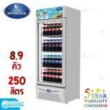 ราคาถูกและดีที่สุดในไทย กระบี่ SANDEN ตู้แช่เย็น 1 ประตู 8.9 คิว รุ่น SPA-0253A