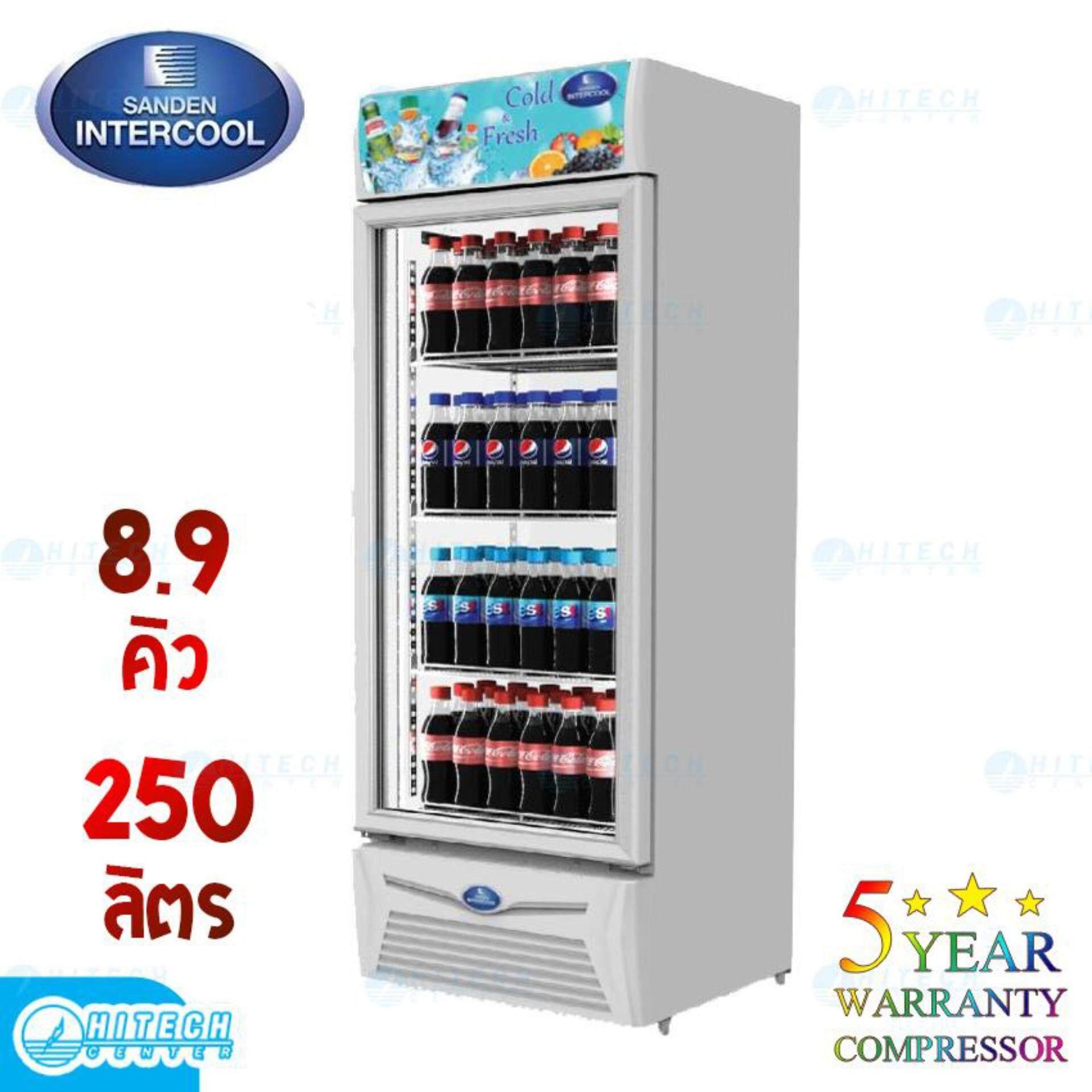 สินเชื่อบุคคลซิตี้  กระบี่ SANDEN ตู้แช่เย็น 1 ประตู 8.9 คิว รุ่น SPA-0253A