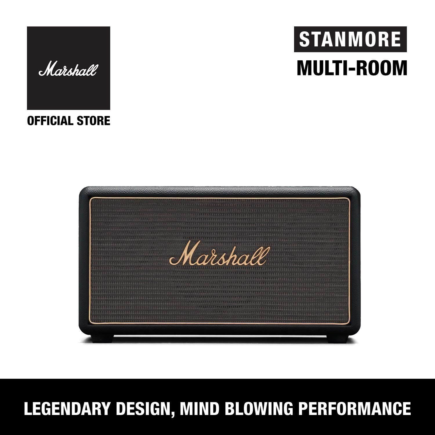 ลำโพงบลูทูธ Marshall Stanmore Multi-Room Black - Marshall Stanmore Multi-Room Speaker Black