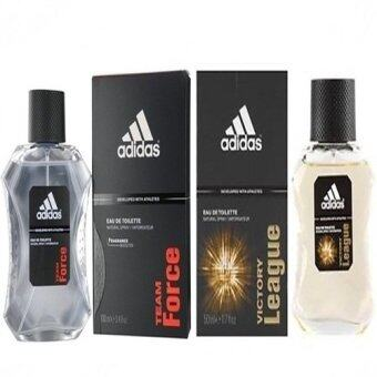 Adidas Team Force Adidas for men 100 ml. + Adidas Victory League For men 100ml.
