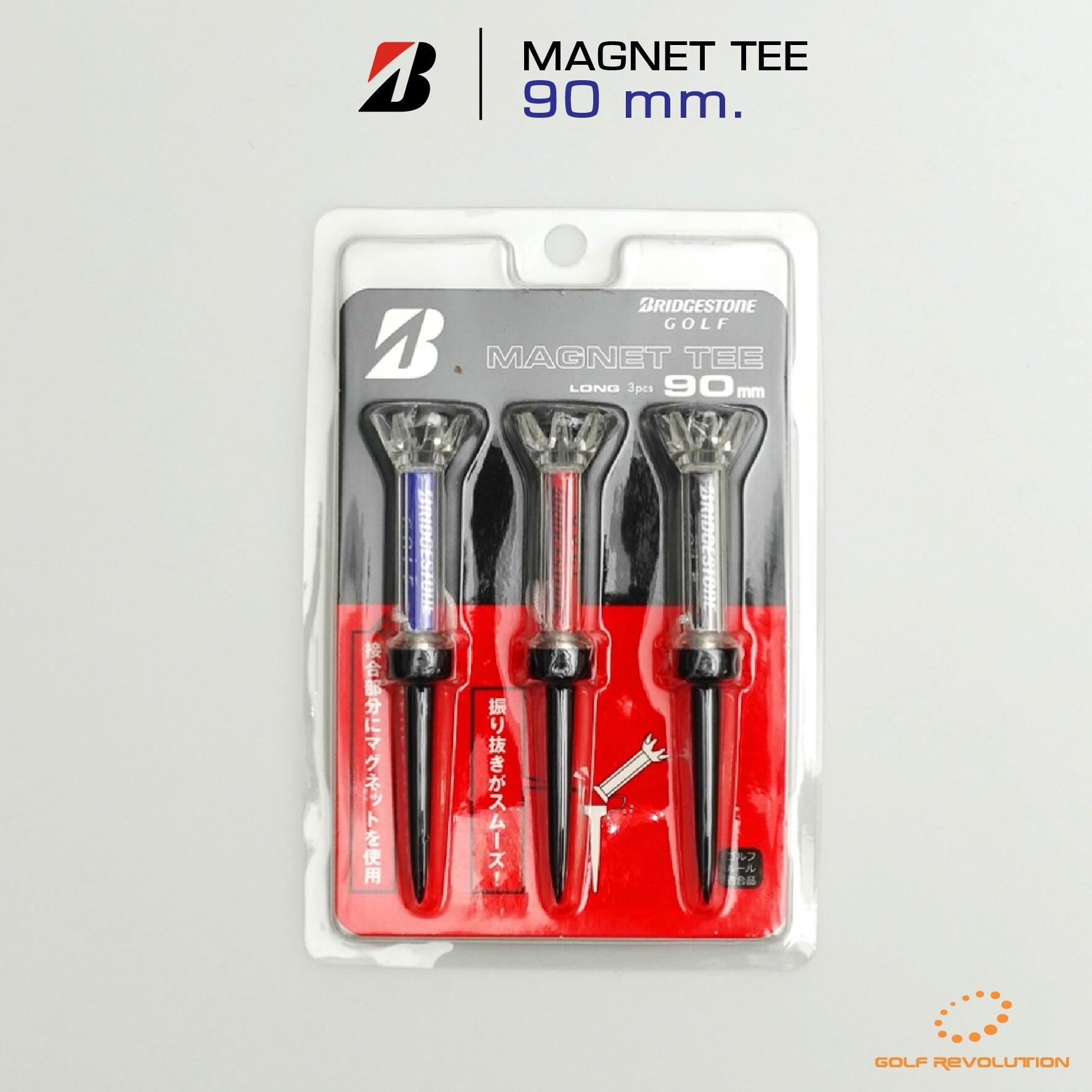ที่ตั้งลูกกอล์ฟ Bridgestone - Magnet Tee (GAGMTT) ( 1 Pack, 3 Pcs.)