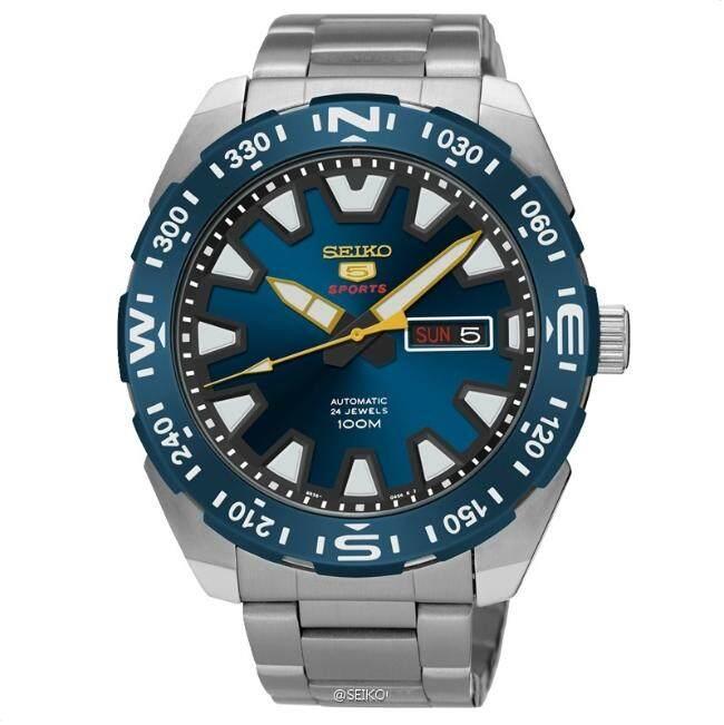ยี่ห้อไหนดี  อุดรธานี Seiko 5 นาฬิกาข้อมือ Sports Automatic DIVER 100 M Mens Watch รุ่น SRP747J1