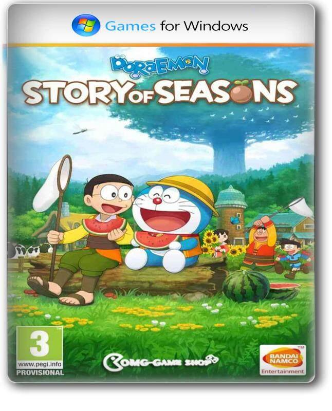 แผ่นเกม PC Game - Doraemon Story of Seasons เกมคอมพิวเตอร์ แนวปลูกผัก ฮาเวสมูน ห้ามพลาด