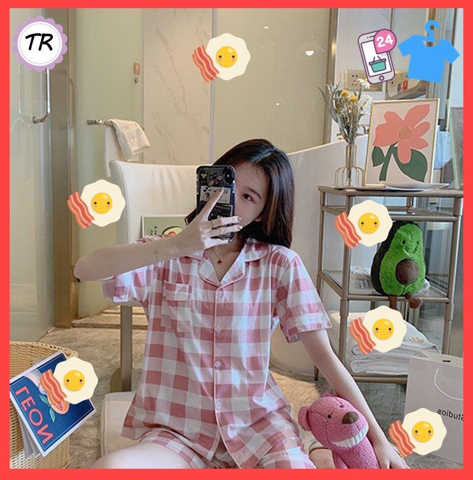 Tarashop ??ชุดนอน เซตชุดนอน ชุดนอนน่ารักๆ ชุดนอนคาวาอิ ชุดนอนมีหลายลาย ผ้านิ่มมาก??