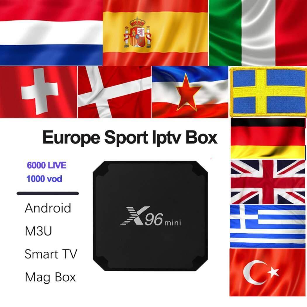 ยี่ห้อไหนดี  พะเยา X96mini Android TV Box 7.1.2 แรม2GB/ 16GB Amlogic S905W Coretex A53 64-Bit CPU