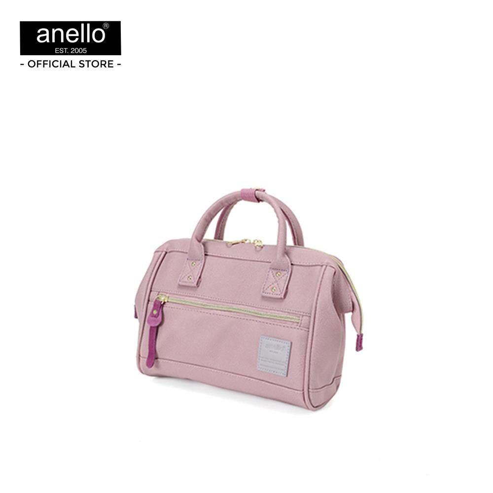 การใช้งาน  กาญจนบุรี anello กระเป๋า สะพายสไคล์ MINI Boston ขนาด mini ถือได้ 2 แบบ_AT-H1021