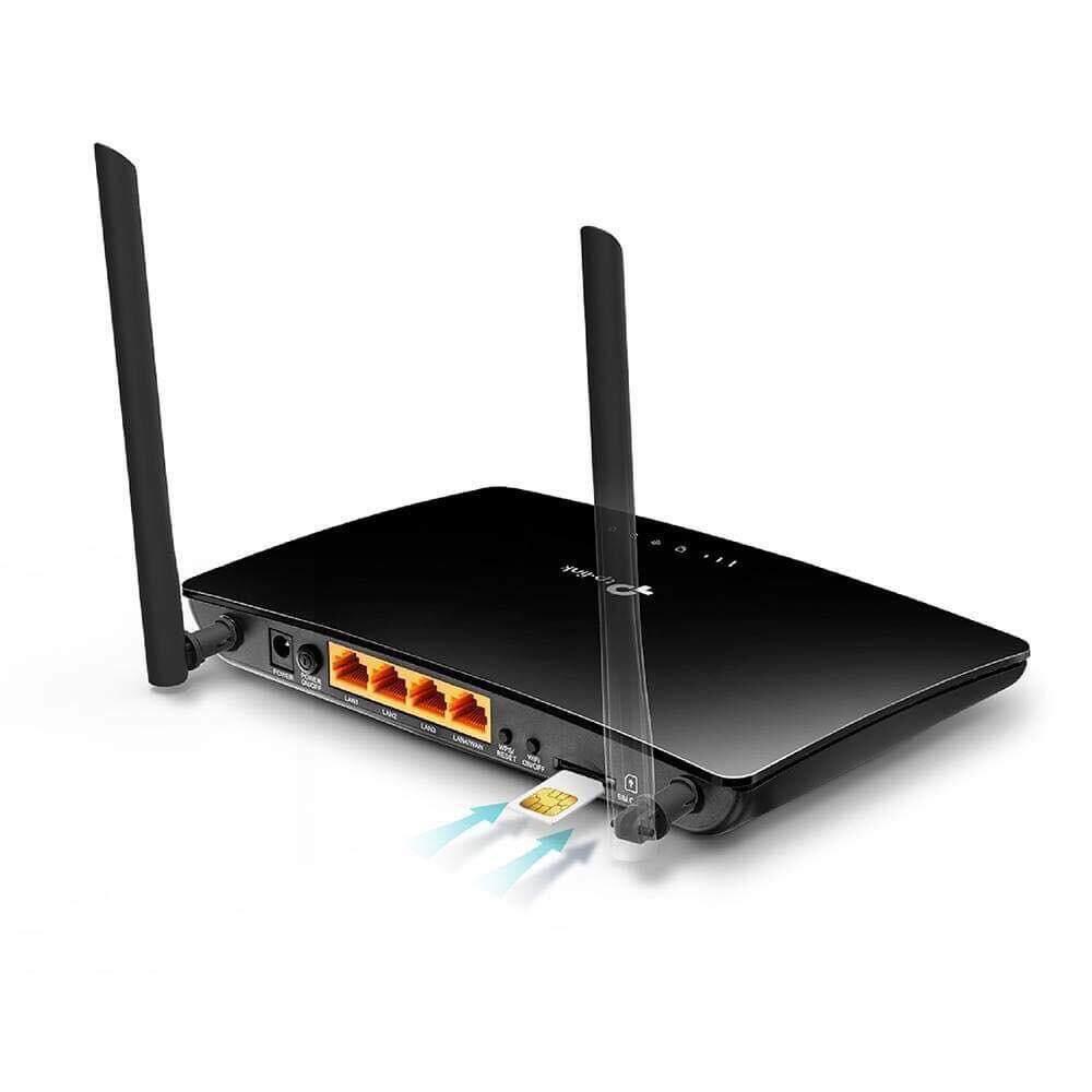 สุดยอดสินค้า!! มาใหม่ ของแท้ ส่งฟรี ! TP-LINK ARCHER MR200 Ver:3.0 (รุ่นใหม่เสากลมเป็นเสาส่งไวไฟ)ส่งKERRYประกันศูนย์ 3ปี BY STREK Routerใส่Simมี LAN 4 PORT.