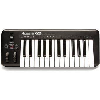 Alesis USB MIDI คีย์อบร์ด 25 คีย์ รุ่น Q25
