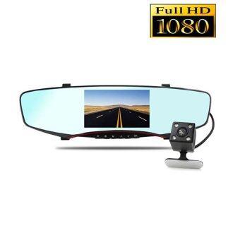 Anytek T2 กล้องติดรถยนต์2กล้อง 170ºเป็นกล้องถอยหลังได้ด้วย จอ5นิ้ว