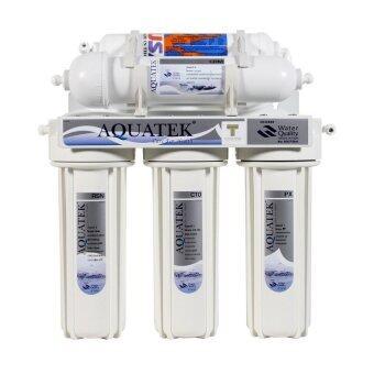 Aquatek เครื่องกรองน้ำ CERAMIC 5 ขั้นตอน AQUATEK SILVER (White)