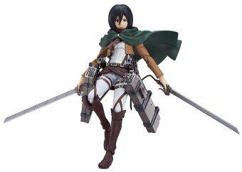 Attack on Titan: Mikasa Ackerman Figma Action Figure shingeki no kyojin