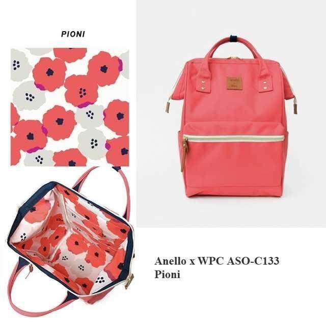บัตรเครดิตซิตี้แบงก์ รีวอร์ด  ปัตตานี กระเป๋า Anello x Wpc Collaboration Large Collection 2019 - authentic 100%