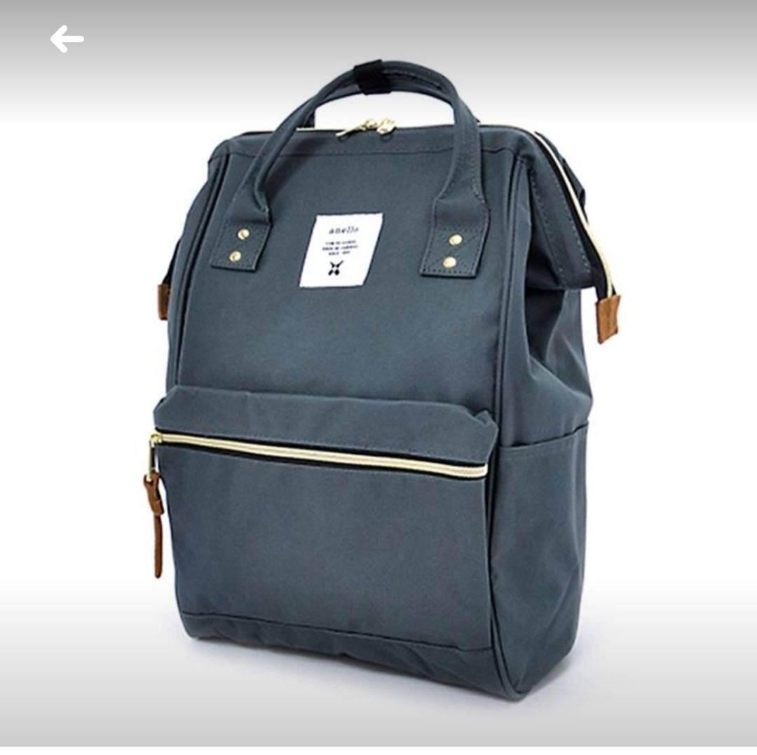 สอนใช้งาน  บึงกาฬ Anello Regular Backpack กรม