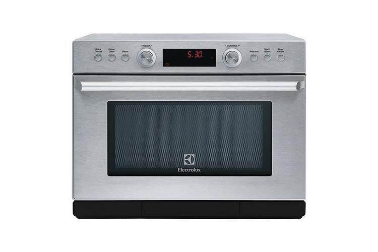 รุ่นใหม่ล่าสุด อุ่นอาหารร้อนเร็ว ประหยัดไฟ ฟังก์ชันพร้อม ใช้งานสะดวก Microwave ไมโครเวฟ ดิจิตอล ELECTROLUX EMS3477X 34L ELECTROLUX EMS3477X
