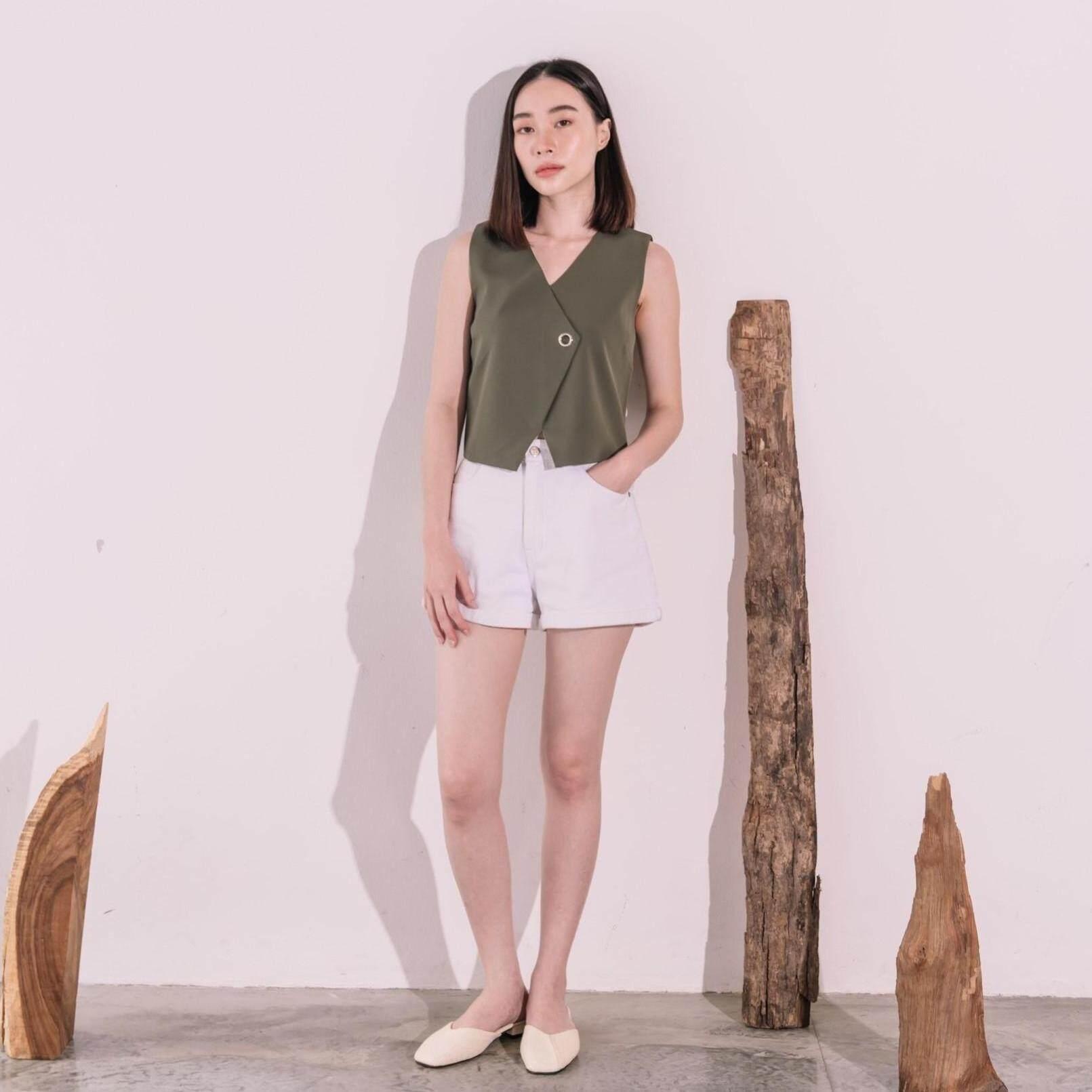 RMVcollection new collection Basics เสื้อแขนกุด premium รุ่น Cara Top