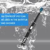 แปรงสีฟันไฟฟ้า ช่วยดูแลสุขภาพช่องปาก พิษณุโลก SEAGO แปรงสีฟันไฟฟ้าแปรงสีฟันไฟฟ้าสำหรับเด็กElectric Toothbrush โซนิคแปรงสีฟันไฟฟ้าแบบชาร์จแปรงฟันRechargeable buy one get one free Sonic Toothbrush 4 Mode Travel Toothbrush with 3 Brush Head Gift