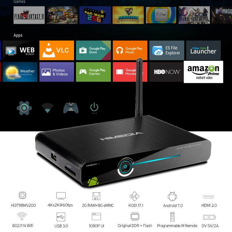 ยี่ห้อนี้ดีไหม  นครปฐม Android Box HIMEDIA (Q30)  Free Mouse Wriless GMW035