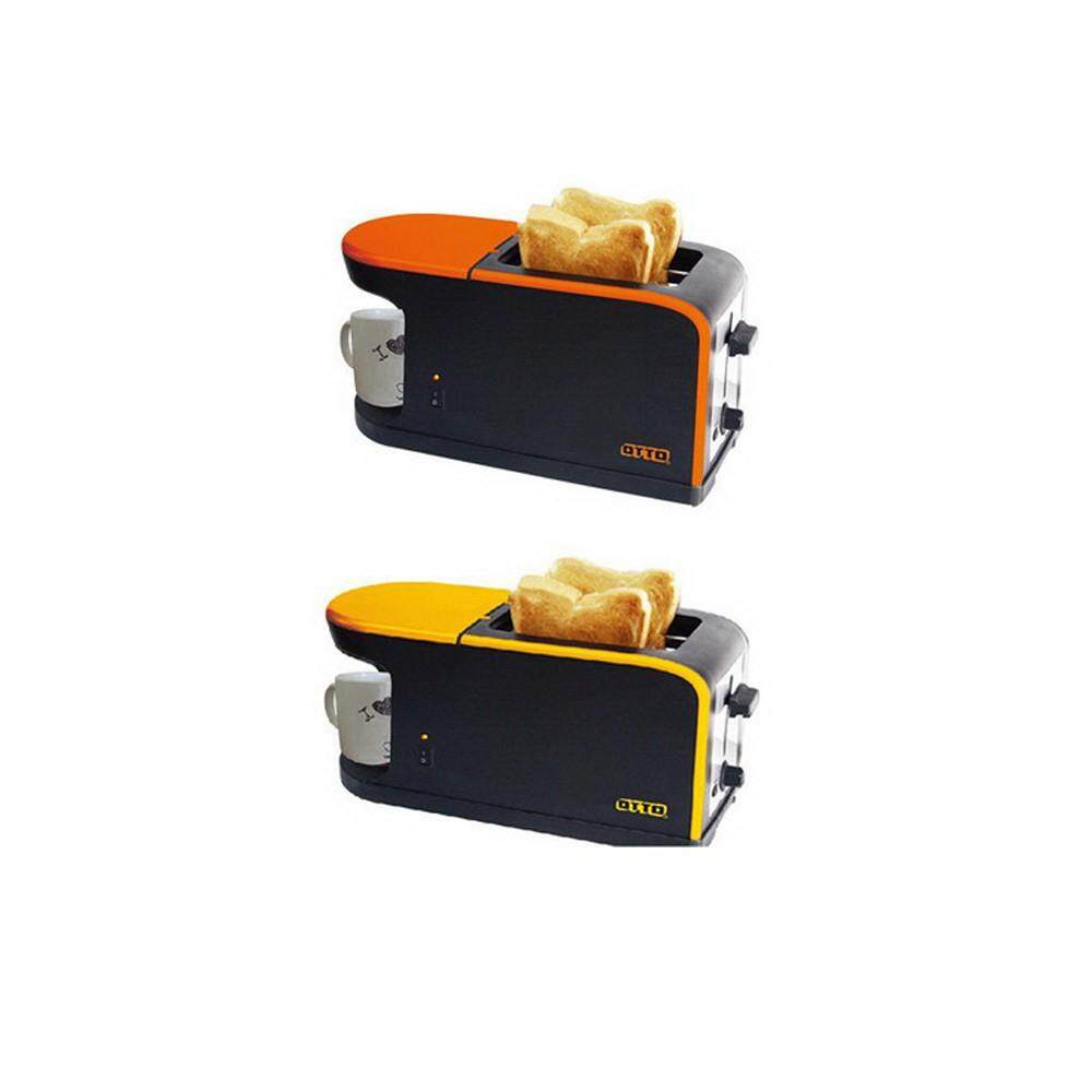 ยี่ห้อนี้ดีไหม  ขอนแก่น OTTO เครื่องปิ้งขนมปังและชงกาแฟ CM-020 เตาปิ้งขนมปัง เตาปิ้ง ที่ปิ้งขนมปัง อบขนมปัง ทำอาหารเช้า Toaster ราคาถูก เก็บเงินปลายทาง ส่งฟรี