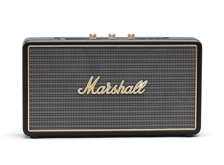 ยี่ห้อไหนดี  น่าน ลำโพง Marshall Stockwell No Flip Cover Bluetooth Speaker ประกันศูนย์ไทย 1 ปี