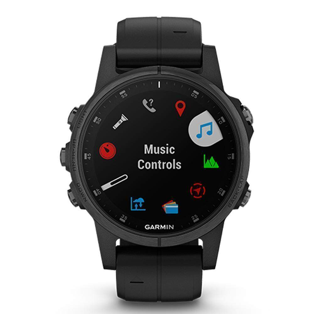 ยี่ห้อนี้ดีไหม  พัทลุง Garmin Fēnix 5S Plus GM-010-01987-74 Smart Digital Black Silicone Unisex Smart