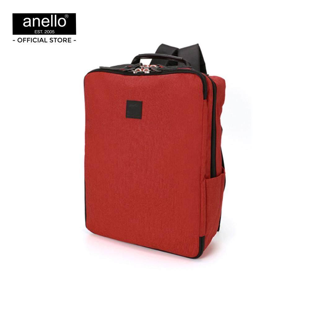 กำแพงเพชร anello กระเป๋าเป้ MINI Antique heathering polyester multifunctional backpack AT-C2241-RE