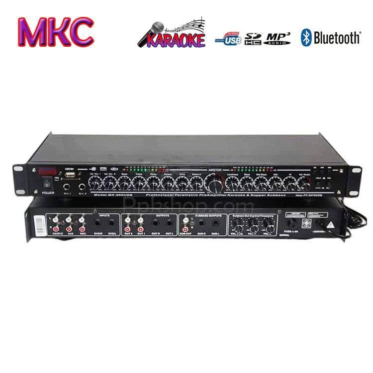 ปรีแอมป์คาราโอเกะบลูทูธรุ่นใหม่ MKC Technic รุ่น MK-600BT แต่งเสียงเพลง/ไมค์