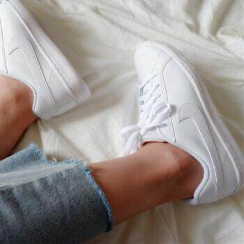 ขายดีมาก! NIKE รองเท้าผ้าใบ ลำลอง ไนกี้ Court Majestic (White -เรโทร สบายในทุกวัน) ++ของแท้100% พร้อมส่ง ส่งด่วน Kerry++
