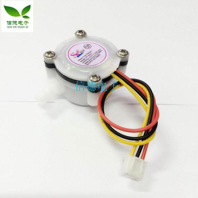 """Water Flow Sensor 1//4/"""" Effect Hall Water Control 0.3-6L//min For Arduino"""