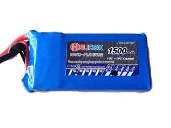 Babybearonline Battery Helicox 1500 mah 11.1 Volt 30 C