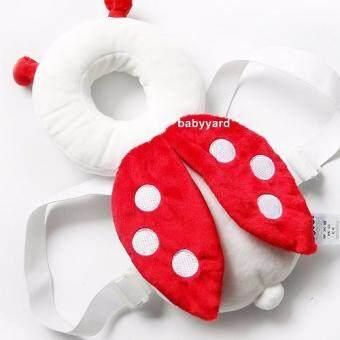 Babyyard อุปกรณ์เด็กหัดเดิน ที่เด็กหัดเดิน หมวกกันน็อคเด็กอ่อน หมวกกันน็อคเด็กทารก แผ่นกันกระแทกเด็ก กันกระแทกแผ่นรองคลาน หมอนโดนัทเด็ก ลายเต่าทอง(Red)