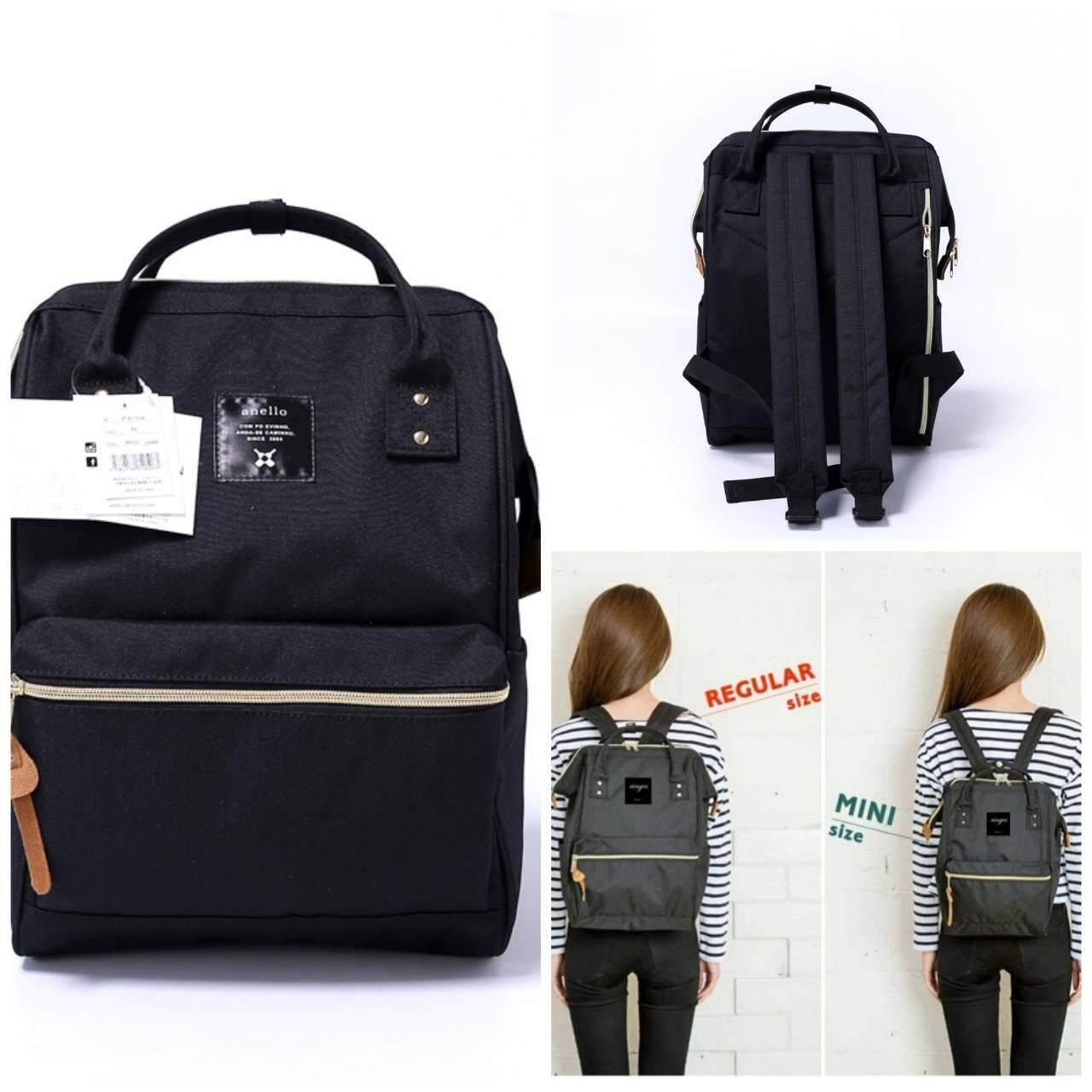 การใช้งาน  พัทลุง Anello Mini Backpack (Black COLOR)