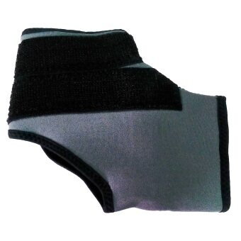 Bamboo Yarn แถบรัด ข้อเท้า ไหมไผ่รุ่น AS-51-01 Size ( Black )